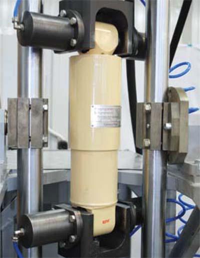 Научно технический центр Техиндустрия Телефон  Каждый гидродемпфер после ремонта проходит контрольные испытания на современном оборудовании гидравлическом стенде Производятся контрольные замеры